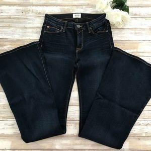 ‼️HUDSON MIA 5 Pocket Mid rise Flair Jeans 26/k38